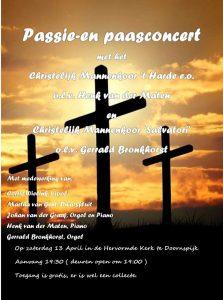 Hervormde kerk te Doornspijk met mannenkoor Salvatori