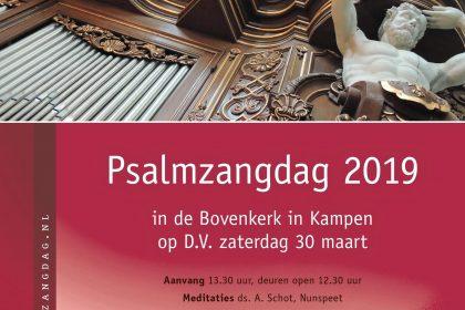 Psalmzangdag in Bovenkerk te Kampen