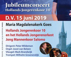 Maria Magdalenakerk te Goes jubileumconcert Hollands Jongerenkoor
