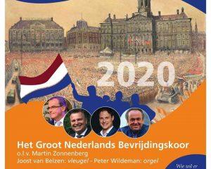 Nederland viert 75 jaar bevrijdiging projectkoor
