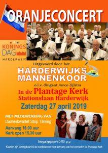 Plantagekerk te Harderwijk oranjeconcert
