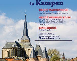 Samen zingen in de Bovenkerk te Kampen