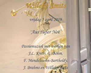 Sionskerk te Terschuur met organist Willeke Smits