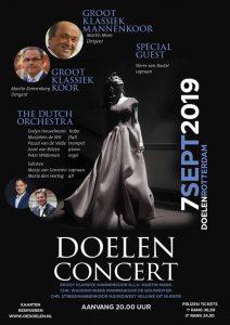 Doelenconcert van Rotterdam groot klassiek concert