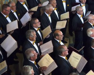 Dorpskerk te Sint-Annaland bevrijdigingsconcert