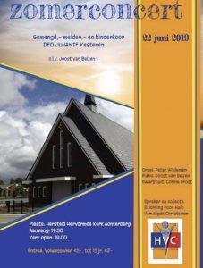 HHK Achterberg zomerconcert met Deo Juvante