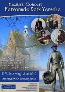 Hervormde kerk in Yerseke muzikaal concert