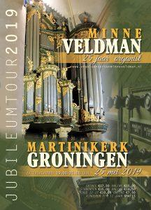 Martinikerk in Groningen met organist Minne Veldman