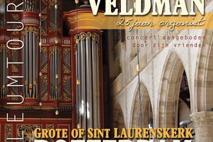 Sint Laurenskerk te Rotterdam met Minne Veldman