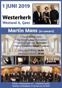 Westerkerk te Goes met Martin Mans