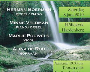hoftekerk van Hardenberg samen zingen