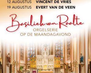 Basiliek van Raalte orgelserie op maandagavond