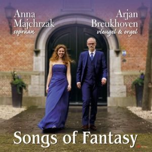 Cd Songs of Fatasy met Arjan Breukhoven