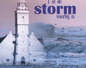 Cd Tot de storm voorbij is van mannenzanggroep Sion