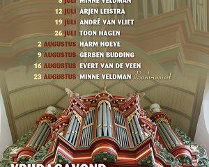 Andre van Vliet geeft concert Grote kerk Vollenhove