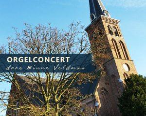 Hervormde kerk te Venhuizen orgelconcert Minne Veldman