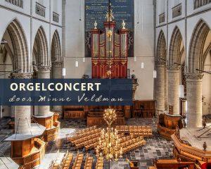 Sint Catharijnekerk te Brielle met organist Minne Veldman