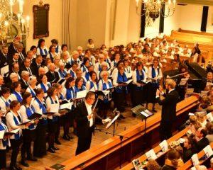 Grote kerk te Gorinchem concert met Shaare Zedekkoor