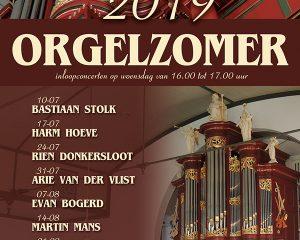 Bethelkerk te Urk orgelzomer 2019 met Minne Veldman