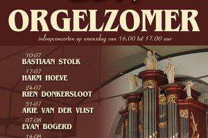 Bethelkerk van Urk orgelzomer 2019 met Vincent de Vries