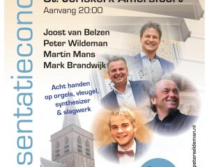 Cd Magistraal presentatieconcert in de Sint-Joriskerk van Amersfoort