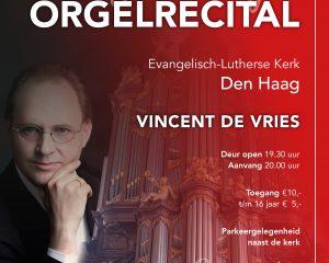 Evangelisch-Lutherse Kerk te Den Haag met Vincent de Vries