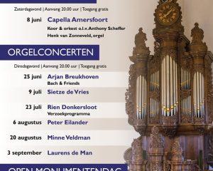 Grote kerk te Nijkerk orgelconcert met Laurens de Man