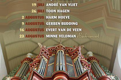 Grote kerk te Vollenhove orgelconcert met Minne Veldman