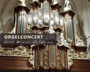 Martinikerk te Bolsward orgelconcert met Minne Veldman