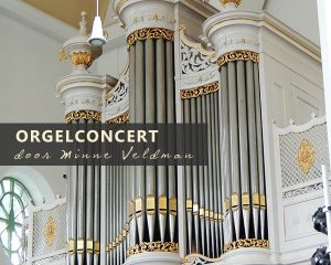 Sint Joriskerk te Westzaan orgelconcert met Minne Veldman