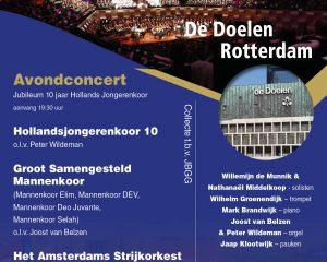 De Doelen van Rotterdam eindejaarsconcert avond 2019