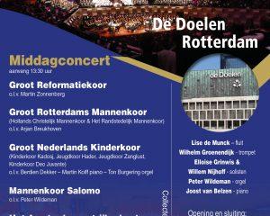 De Doelen van Rotterdam eindejaarsconcert middag 2019