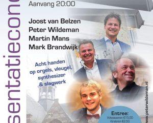 Hervormde kerk van Heusden cd presentatie Magistraal