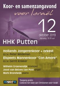 Het Hollands Jongerenkoor 10 geeft Jubileumconcert in Putten