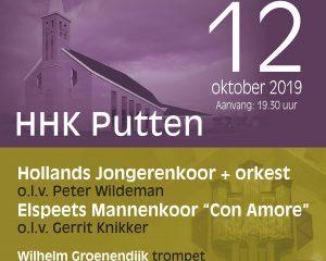 Het Hollands Jongerenkoor 10 geeft Jubileumconcert in Putten