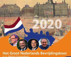 Nieuw projectkoor Nederland viert 75 ja