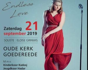 Oude kerk te Goerdereede cd presentatie His endless Love