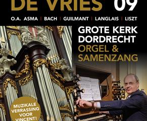 grote kerk van Dordrecht orgelconcert met Vincent de Vries