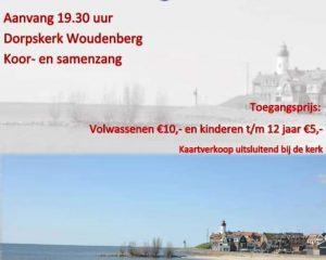 Dorpskerk te Woudenberg concert met Eiland Urk