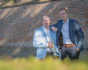 Fontein te Nijkerk met Hugo van der Meij