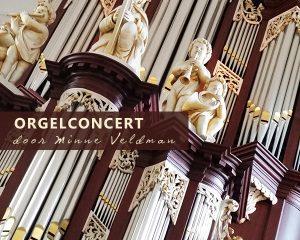 Grote kerk te Drachten orgelconcert met Minne Veldman