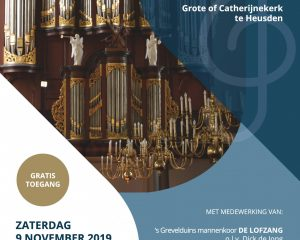 Grote kerk te Heusden kooravond met Cantilena uit Werkendam