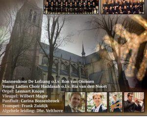 Grote kerk te Tholen adventsconcert met De Lofzang