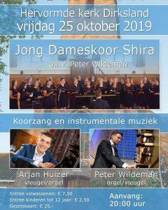 Hervormde kerk te Dirksland met Jong Dameskoor Shira