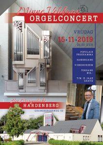 Het Morgenlicht te Hardenberg orgelconcert Minne Veldman