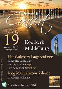 Koorkerk te Middelburg met het Walchers Jongerenkoor