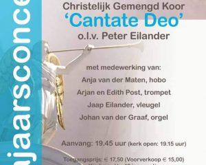 Sint-Joriskerk te Amersfoort met Gemengd koor Cantate Deo
