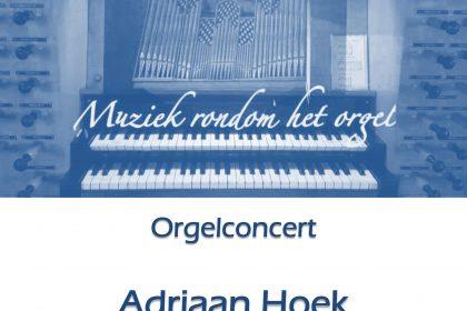Adriaan Hoek in concert in de Wijnstok Dordrecht
