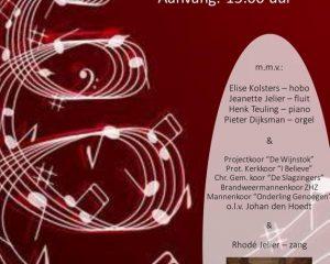De Wijnstok te Dordrecht kerstconcert door Johan den Hoedt