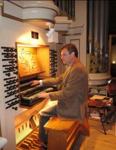Dorpskerk te Ouderkerk aan de IJssel orgelconcert Cees van der Slik